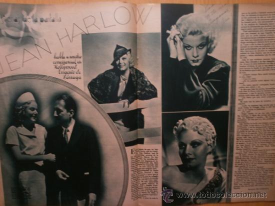 Cine: CINEGRAMAS Nº58.1935.FRANCES GRANT,G.RAFT,S.TEMPLE,V.FLEMING,J.HARLOW,H.CAHAGAN,M. DEL CARMEN. - Foto 11 - 36692635