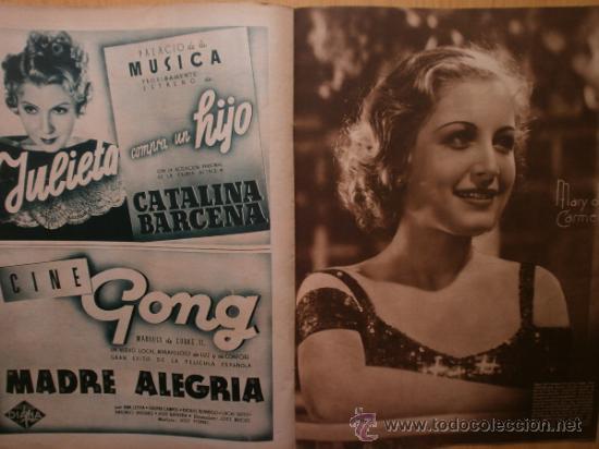 Cine: CINEGRAMAS Nº58.1935.FRANCES GRANT,G.RAFT,S.TEMPLE,V.FLEMING,J.HARLOW,H.CAHAGAN,M. DEL CARMEN. - Foto 12 - 36692635