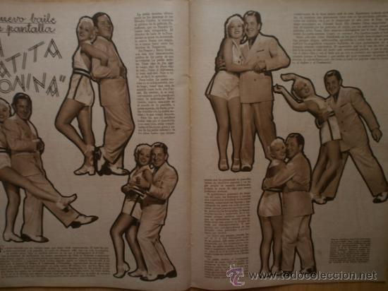 Cine: CINEGRAMAS Nº58.1935.FRANCES GRANT,G.RAFT,S.TEMPLE,V.FLEMING,J.HARLOW,H.CAHAGAN,M. DEL CARMEN. - Foto 13 - 36692635