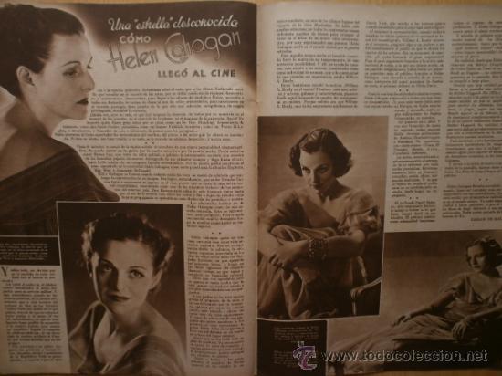 Cine: CINEGRAMAS Nº58.1935.FRANCES GRANT,G.RAFT,S.TEMPLE,V.FLEMING,J.HARLOW,H.CAHAGAN,M. DEL CARMEN. - Foto 14 - 36692635