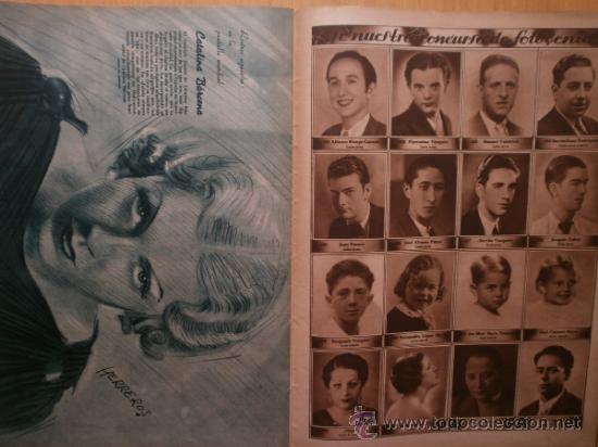 Cine: CINEGRAMAS Nº58.1935.FRANCES GRANT,G.RAFT,S.TEMPLE,V.FLEMING,J.HARLOW,H.CAHAGAN,M. DEL CARMEN. - Foto 15 - 36692635