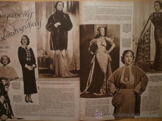 Cine: CINEGRAMAS Nº58.1935.FRANCES GRANT,G.RAFT,S.TEMPLE,V.FLEMING,J.HARLOW,H.CAHAGAN,M. DEL CARMEN. - Foto 16 - 36692635