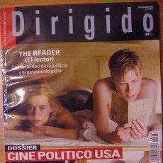 Cine: DIRIGIDO POR ... Nº 386, FEBRERO 2009. Lote 36730080
