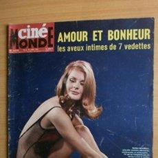 Cine: CINEMONDE Nº1610.1965.NANA MICHAEL,A.SPEEK,R.BRAZZI,M.LAFORET,R.BURTON,C.HESTON,S.LOREN,J.HOLLIDAY.. Lote 36767221