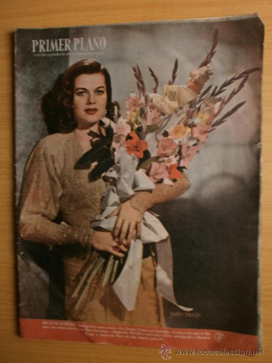 PRIMER PLANO Nº418.1948.JANIS PAIGE,V.MATURE,C.GRANT,J.CRAIN,C.LEE,S.TRACY,M.CABRE,D.KERR. (Cine - Revistas - Primer plano)