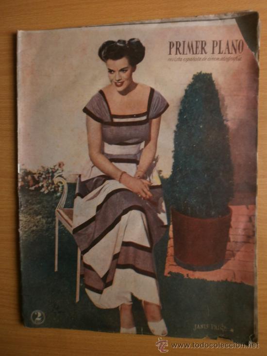 PRIMER PLANO Nº394.1948.JANIS PAIGE,M.FELIX,J.REYNOLDS,V.FRANCEN,C.MONTES,M.DIETRICH,A.SMITH,S.GRAY. (Cine - Revistas - Primer plano)