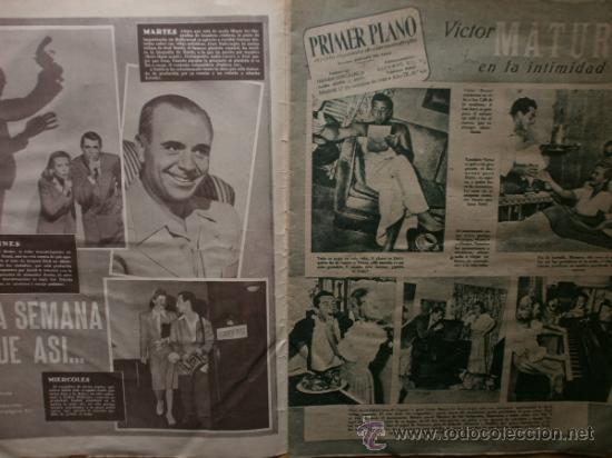 Cine: PRIMER PLANO Nº418.1948.JANIS PAIGE,V.MATURE,C.GRANT,J.CRAIN,C.LEE,S.TRACY,M.CABRE,D.KERR. - Foto 2 - 36767366