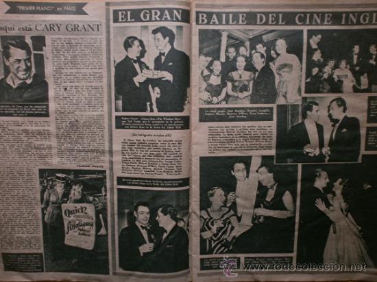 Cine: PRIMER PLANO Nº418.1948.JANIS PAIGE,V.MATURE,C.GRANT,J.CRAIN,C.LEE,S.TRACY,M.CABRE,D.KERR. - Foto 4 - 36767366