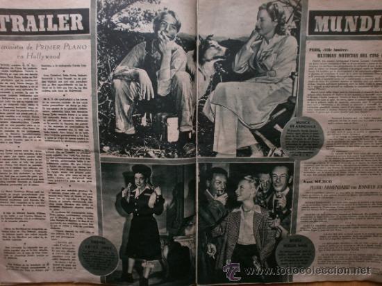 Cine: PRIMER PLANO Nº418.1948.JANIS PAIGE,V.MATURE,C.GRANT,J.CRAIN,C.LEE,S.TRACY,M.CABRE,D.KERR. - Foto 7 - 36767366