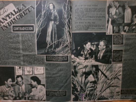 Cine: PRIMER PLANO Nº418.1948.JANIS PAIGE,V.MATURE,C.GRANT,J.CRAIN,C.LEE,S.TRACY,M.CABRE,D.KERR. - Foto 9 - 36767366