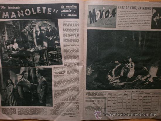 Cine: PRIMER PLANO Nº418.1948.JANIS PAIGE,V.MATURE,C.GRANT,J.CRAIN,C.LEE,S.TRACY,M.CABRE,D.KERR. - Foto 10 - 36767366