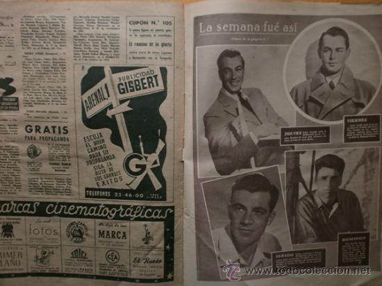 Cine: PRIMER PLANO Nº418.1948.JANIS PAIGE,V.MATURE,C.GRANT,J.CRAIN,C.LEE,S.TRACY,M.CABRE,D.KERR. - Foto 12 - 36767366