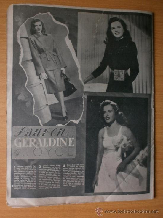 Cine: PRIMER PLANO Nº418.1948.JANIS PAIGE,V.MATURE,C.GRANT,J.CRAIN,C.LEE,S.TRACY,M.CABRE,D.KERR. - Foto 13 - 36767366