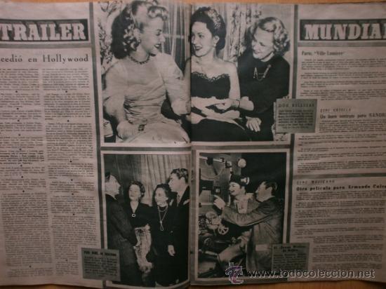 Cine: PRIMER PLANO Nº394.1948.JANIS PAIGE,M.FELIX,J.REYNOLDS,V.FRANCEN,C.MONTES,M.DIETRICH,A.SMITH,S.GRAY. - Foto 6 - 36767466