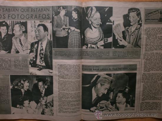 Cine: PRIMER PLANO Nº394.1948.JANIS PAIGE,M.FELIX,J.REYNOLDS,V.FRANCEN,C.MONTES,M.DIETRICH,A.SMITH,S.GRAY. - Foto 7 - 36767466