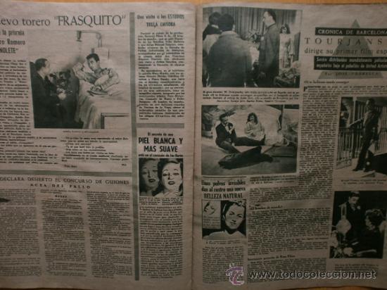 Cine: PRIMER PLANO Nº394.1948.JANIS PAIGE,M.FELIX,J.REYNOLDS,V.FRANCEN,C.MONTES,M.DIETRICH,A.SMITH,S.GRAY. - Foto 9 - 36767466