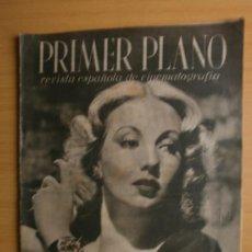 Cine: PRIMER PLANO Nº54.1941.ANN SOTHERN,J.PEÑA,J.NIETO,C.PIQUER,I.ARGENTINA,M.FRESNO,L.SOTO,R.RIVELLES.. Lote 36778105