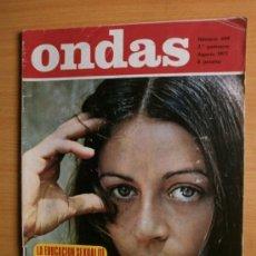 Cine: ONDAS Nº449.1971.EMMA COHEN,L.TAYLOR,HELGA,SORAYA,F.DIBA,EL SHA,T.RONALD,M.RIOS,E.FITZGERALD,SERRAT.. Lote 36783418