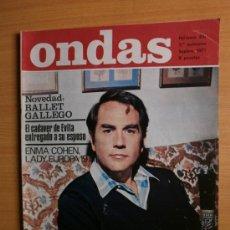 Cine: ONDAS Nº451.1971.JAVIER ESCRIVA,E,COHEN-LADY EUROPA,CHARLOT,O.SHARIF,CASALS,S.ADAMO,A.WILLIAMS.. Lote 36783621