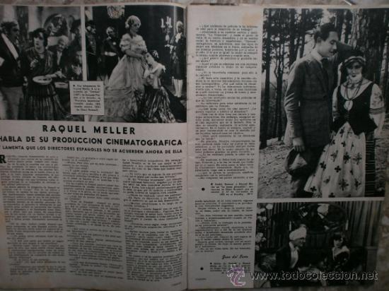 Cine: CAMARA Nº99.1947.IMOGENE CARPENTER,R.MELLER,K.HEPBURN,E.SOTO,A.MARISCAL,S.TEMPLE,R.GIL,A.DE CORDOBA. - Foto 2 - 36802682
