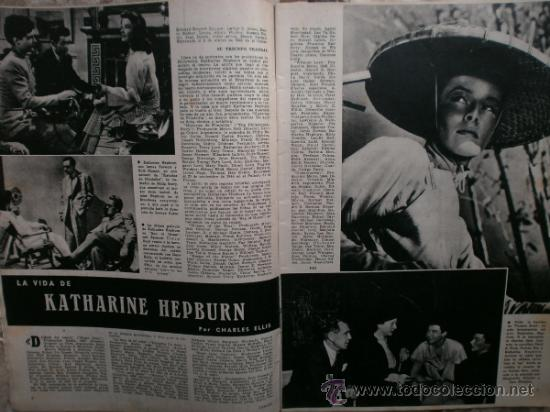Cine: CAMARA Nº99.1947.IMOGENE CARPENTER,R.MELLER,K.HEPBURN,E.SOTO,A.MARISCAL,S.TEMPLE,R.GIL,A.DE CORDOBA. - Foto 3 - 36802682