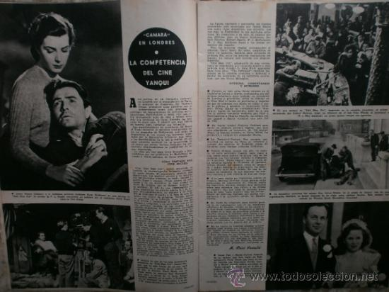 Cine: CAMARA Nº99.1947.IMOGENE CARPENTER,R.MELLER,K.HEPBURN,E.SOTO,A.MARISCAL,S.TEMPLE,R.GIL,A.DE CORDOBA. - Foto 6 - 36802682