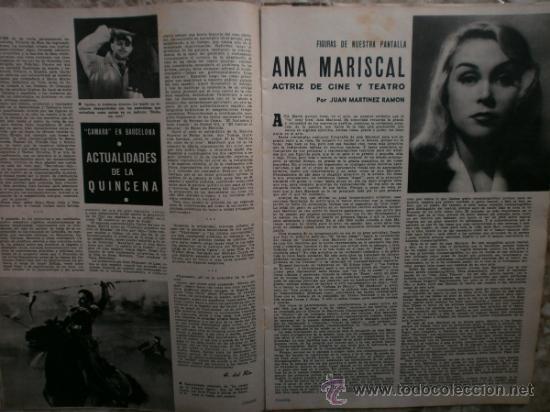 Cine: CAMARA Nº99.1947.IMOGENE CARPENTER,R.MELLER,K.HEPBURN,E.SOTO,A.MARISCAL,S.TEMPLE,R.GIL,A.DE CORDOBA. - Foto 8 - 36802682