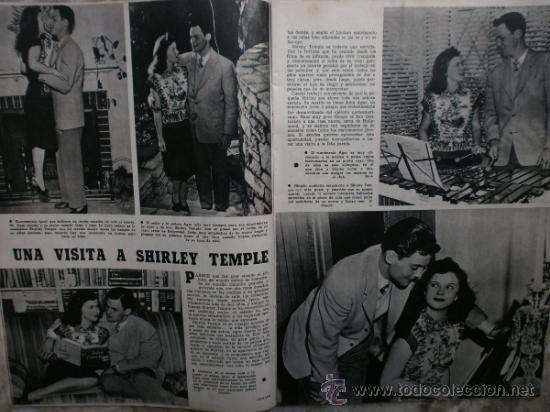 Cine: CAMARA Nº99.1947.IMOGENE CARPENTER,R.MELLER,K.HEPBURN,E.SOTO,A.MARISCAL,S.TEMPLE,R.GIL,A.DE CORDOBA. - Foto 9 - 36802682