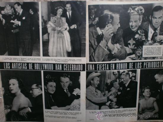 Cine: CAMARA Nº99.1947.IMOGENE CARPENTER,R.MELLER,K.HEPBURN,E.SOTO,A.MARISCAL,S.TEMPLE,R.GIL,A.DE CORDOBA. - Foto 12 - 36802682