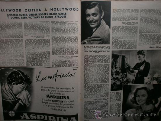 Cine: CAMARA Nº99.1947.IMOGENE CARPENTER,R.MELLER,K.HEPBURN,E.SOTO,A.MARISCAL,S.TEMPLE,R.GIL,A.DE CORDOBA. - Foto 14 - 36802682