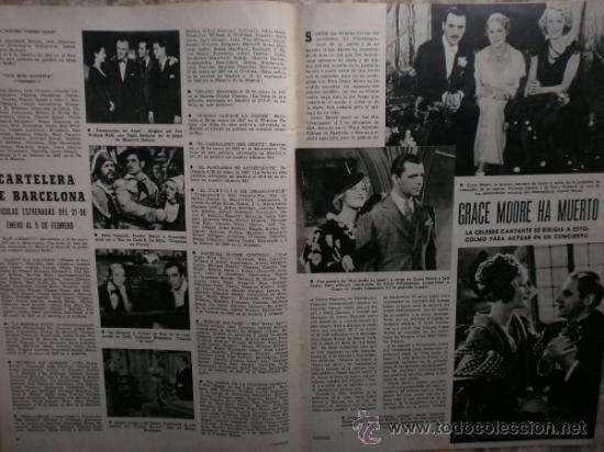 Cine: CAMARA Nº99.1947.IMOGENE CARPENTER,R.MELLER,K.HEPBURN,E.SOTO,A.MARISCAL,S.TEMPLE,R.GIL,A.DE CORDOBA. - Foto 17 - 36802682