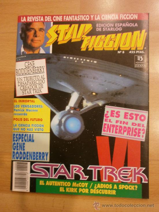 STAR FICCION Nº 8. STAR TREK, LOS INMORTALES, HOOK... (Cine - Revistas - Star Ficcion)