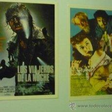 Cine: LOTE PROGRAMAS MODERNOS TERROR- LOS VIAJEROS DE LA NOCHE.-LA ZINGARA Y LOS MONSTRUOS. Lote 36838736