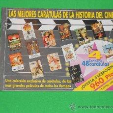 Cine: LAS MEJORES CARATULAS DE LA HISTORIA DEL CINE VOLUMEN 4. Lote 36874099