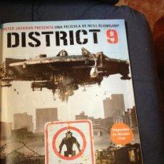 Cine: 'DISTRIT 9', PRODUCIDA POR PETER JACKSON. PÁGINA DE PRENSA.. Lote 36879529
