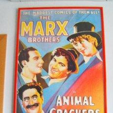 Cine: CARTEL DE LA PELICULA ANIMAL CRACKERS - 96X65 CM - REPRODUCCION DEL CARTEL AMERICANO - AÑO 1990.. Lote 36938397