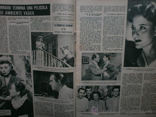 Cine: CAMARA Nº89.1946.NANCY COLEMAN,I.BERGMAN,P.BALLESTEROS,M.LOCKWOOD,J.HODIAK,B.TYLER,W.BEERY,N.MISTRAL - Foto 2 - 36953389
