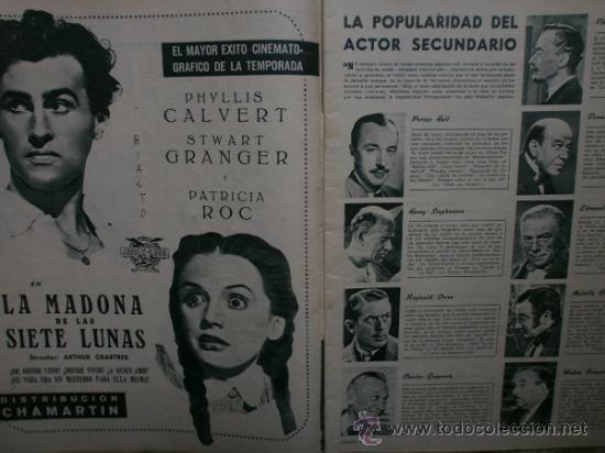 Cine: CAMARA Nº89.1946.NANCY COLEMAN,I.BERGMAN,P.BALLESTEROS,M.LOCKWOOD,J.HODIAK,B.TYLER,W.BEERY,N.MISTRAL - Foto 3 - 36953389