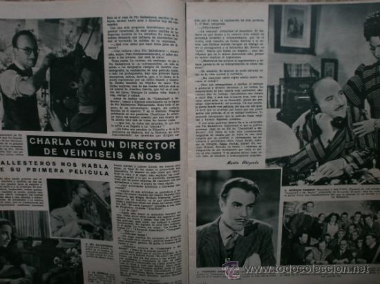 Cine: CAMARA Nº89.1946.NANCY COLEMAN,I.BERGMAN,P.BALLESTEROS,M.LOCKWOOD,J.HODIAK,B.TYLER,W.BEERY,N.MISTRAL - Foto 7 - 36953389