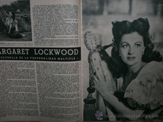 Cine: CAMARA Nº89.1946.NANCY COLEMAN,I.BERGMAN,P.BALLESTEROS,M.LOCKWOOD,J.HODIAK,B.TYLER,W.BEERY,N.MISTRAL - Foto 8 - 36953389