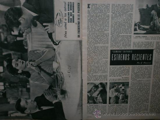 Cine: CAMARA Nº89.1946.NANCY COLEMAN,I.BERGMAN,P.BALLESTEROS,M.LOCKWOOD,J.HODIAK,B.TYLER,W.BEERY,N.MISTRAL - Foto 9 - 36953389