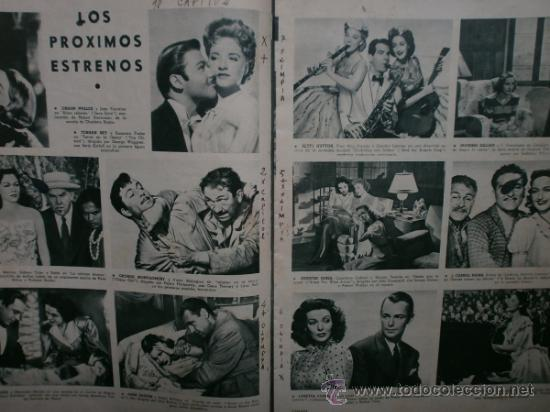 Cine: CAMARA Nº89.1946.NANCY COLEMAN,I.BERGMAN,P.BALLESTEROS,M.LOCKWOOD,J.HODIAK,B.TYLER,W.BEERY,N.MISTRAL - Foto 10 - 36953389