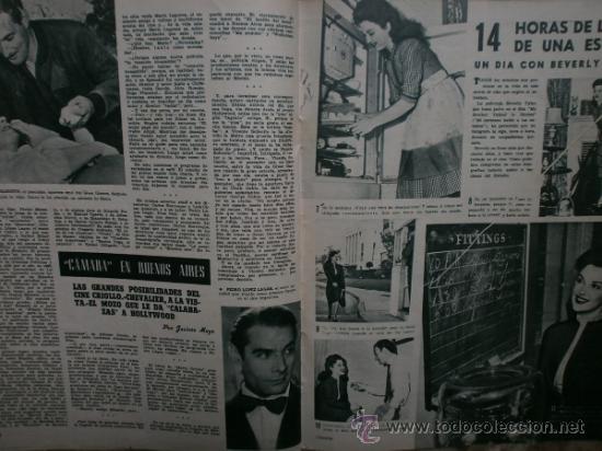 Cine: CAMARA Nº89.1946.NANCY COLEMAN,I.BERGMAN,P.BALLESTEROS,M.LOCKWOOD,J.HODIAK,B.TYLER,W.BEERY,N.MISTRAL - Foto 12 - 36953389