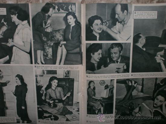 Cine: CAMARA Nº89.1946.NANCY COLEMAN,I.BERGMAN,P.BALLESTEROS,M.LOCKWOOD,J.HODIAK,B.TYLER,W.BEERY,N.MISTRAL - Foto 13 - 36953389