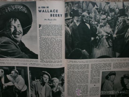 Cine: CAMARA Nº89.1946.NANCY COLEMAN,I.BERGMAN,P.BALLESTEROS,M.LOCKWOOD,J.HODIAK,B.TYLER,W.BEERY,N.MISTRAL - Foto 14 - 36953389
