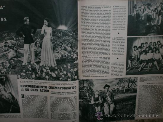 Cine: CAMARA Nº89.1946.NANCY COLEMAN,I.BERGMAN,P.BALLESTEROS,M.LOCKWOOD,J.HODIAK,B.TYLER,W.BEERY,N.MISTRAL - Foto 15 - 36953389