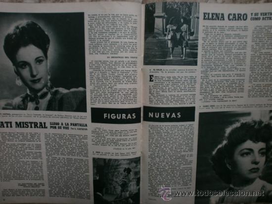 Cine: CAMARA Nº89.1946.NANCY COLEMAN,I.BERGMAN,P.BALLESTEROS,M.LOCKWOOD,J.HODIAK,B.TYLER,W.BEERY,N.MISTRAL - Foto 16 - 36953389