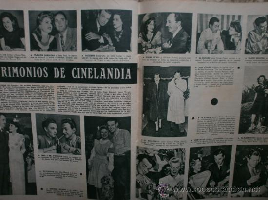Cine: CAMARA Nº89.1946.NANCY COLEMAN,I.BERGMAN,P.BALLESTEROS,M.LOCKWOOD,J.HODIAK,B.TYLER,W.BEERY,N.MISTRAL - Foto 17 - 36953389