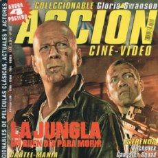Cine: ACCION N. 1302 FEBRERO 2013 - EN PORTADA: LA JUNGLA, UN BUEN DIA PARA MORIR (NUEVA). Lote 117560919