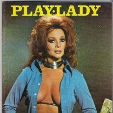 Cine: SARA MONTIEL PORTADA DE REVISTA PLAY-LADY 1 DE JULIO 1975 NUM.8. Lote 37015662